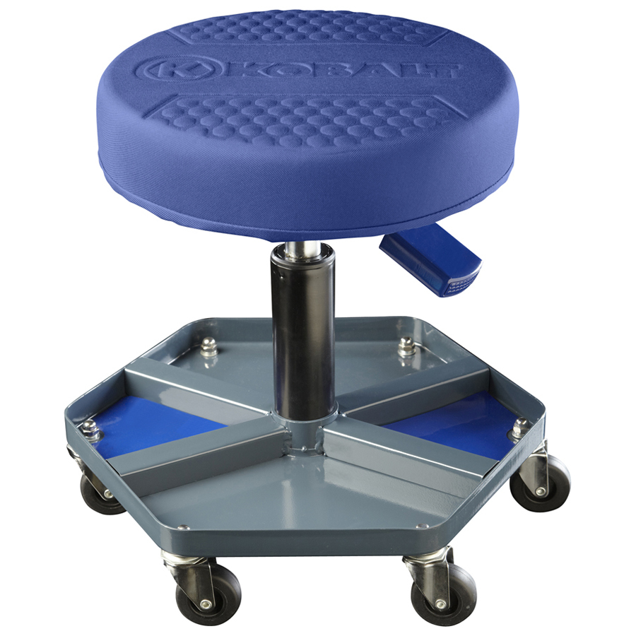 Shop Kobalt Adjustable Shop Stool at Lowes.com