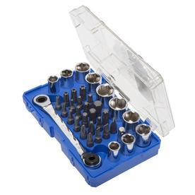 Kobalt Standard (SAE) and Metric Combination Mechanic's Tool Set (35-Piece)