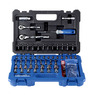 Kobalt Standard (SAE) and Metric Mechanic's Tool Set with Hard Case (93-Piece)