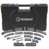 Kobalt 129-Piece Standard/Metric Mechanics Tool Set with Case