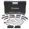 Kobalt 138-Piece Standard (Sae) and Metric Combination Mechanics Tool Set with Case Included