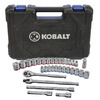 Kobalt 33-Piece Standard/Metric Mechanics Tool Set with Case
