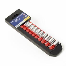 Kobalt 10-Piece Standard (SAE) 1/4-in Drive 6-Point Socket Set