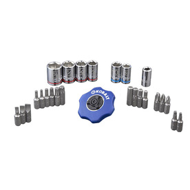 Kobalt 26-Piece Standard/ Metric Mechanic's Tool Set with Case