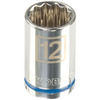 Kobalt 3/8-in Drive 12mm 12-Point Metric Socket