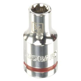 Kobalt 1/4-in Drive 3/16-in Shallow 6-Point Standard (SAE) Socket