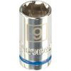 Kobalt 1/4-in Drive 9mm 6-Point Metric Socket