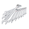 Kobalt 11-Piece Standard Polished Chrome Standard (SAE) Wrench Set