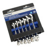 Kobalt 6-Piece Standard Polished Chrome Metric Wrench Set