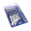 Kobalt 29-Piece Standard Polished Chrome Metric Wrench Set