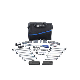 Kobalt 110-Piece Standard/Metric Mechanics Tool Set with Case