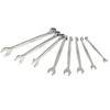 Kobalt 8-Piece Standard Polished Chrome Metric Wrench Set