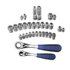 Kobalt 31-Piece Mechanic'S Tool Set with Case Case Included