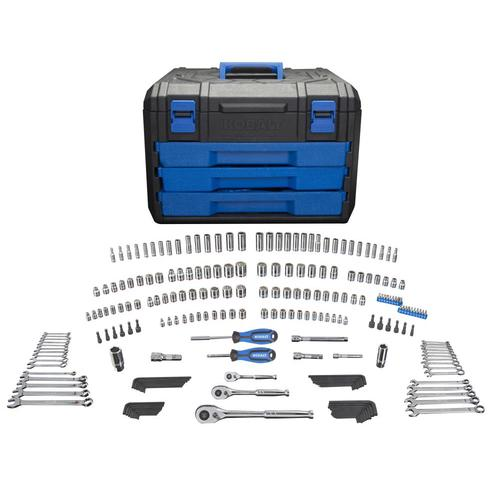 Kobalt 227-Pc. Mechanic's Tool Set w/Case