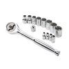 Kobalt 86773 Direct Drive 14-Piece Ratchet Set Deals