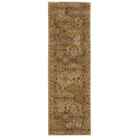 Nourison India House Indoor Tufted (Common: 2 x 8; Actual: 27-in W x 90-in L)