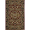 Nourison 3-ft 6-in x 5-ft 6-in Rust India House Area Rug