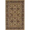 Nourison India House Square Yellow Tufted Area Rug