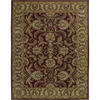 Nourison India House Rectangular Red Tufted Area Rug