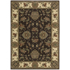 Nourison Cambridge Chocolate Rectangular Indoor Woven Area Rug (Common: 5 x 7; Actual: 63-in W x 89-in L)