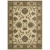 Nourison 5-ft 3-in x 7-ft 4-in Ivory/Gold Yale Area Rug