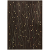 Nourison Cambridge Chocolate Rectangular Indoor Woven Area Rug (Common: 5 x 7; Actual: 63-in W x 89-in L)