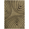 Nourison 5-ft 3-in x 7-ft 4-in Sand Yale Area Rug