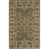 Nourison 3-ft 6-in x 5-ft 6-in Green India House Area Rug