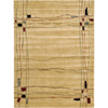 Nourison 5-ft 6-in x 7-ft 5-in Beige Parallels Area Rug