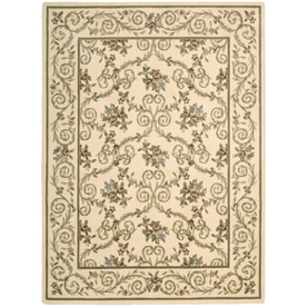 Nourison 3-ft 6-in x 5-ft 6-in Sunset Ivory Area Rug