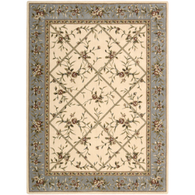 Nourison 7-ft 11-in x 10-ft 10-in Ivory Sunset Area Rug