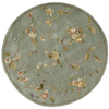 Nourison Rounds Round Blue Tufted Area Rug
