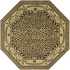 Nourison 8-ft x 8-ft Beige Octagons Area Rug