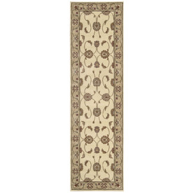 Nourison Sunset White Woven Runner (Common: 2-ft x 8-ft; Actual: 2.25-ft x 7.5-ft)