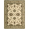 Nourison 5-ft 6-in x 7-ft 5-in Sunset Ivory Area Rug