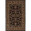 Nourison 5-ft x 8-ft Black India House Area Rug
