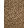 Nourison Somerset Gold Rectangular Indoor Woven Area Rug (Common: 5 x 7; Actual: 63-in W x 89-in L)