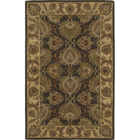 Nourison India House Square Green Tufted Area Rug