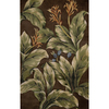 Nourison Green Tufted Runner (Common: 5-ft x 8-ft; Actual: 8.25-ft x 5.25-ft)