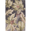 Nourison 5-ft 3-in x 99-in Plum Rain Forrest Area Rug
