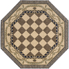 Nourison 6-ft x 6-ft Octagons Area Rug
