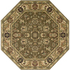 Nourison 8-ft x 8-ft Khaki Octagons Area Rug