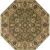 Nourison 8-ft x 8-ft Khaki Octagons Area Rug