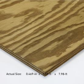 Severe Weather 19/32-in Common Pine Plywood Sheathing, Application as 4 x 8