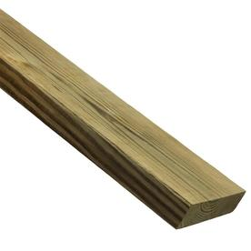 Top Choice Pressure Treated Pine Lumber (Common: 2-in x 4-in; Actual: 1.5-in x 3.5-in x 8-ft)