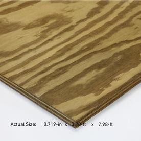 Severe Weather 23/32-in Common Pine Plywood Sheathing, Application as 4 x 8