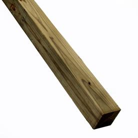 Top Choice #2 Prime Pressure Treated Lumber (Common: 4 x 4 x 8; Actual: 3.5-in x 3.5-in x 96-in)
