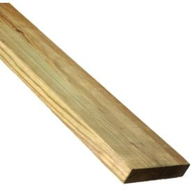 Top Choice Clear Pressure Treated Pine Deck Board (Actual: 1-in x 5.5-in x 8-ft)