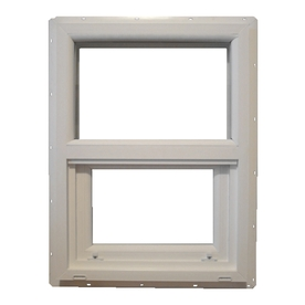 Shop mw 400 sh series vinyl single pane single strength for 18 x 24 vinyl window
