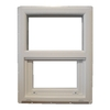 MW 400 SH Vinyl Single Pane Single Strength New Construction Single Hung Window (Rough Opening: 18-in x 30-in; Actual: 17.5-in x 29.5-in)